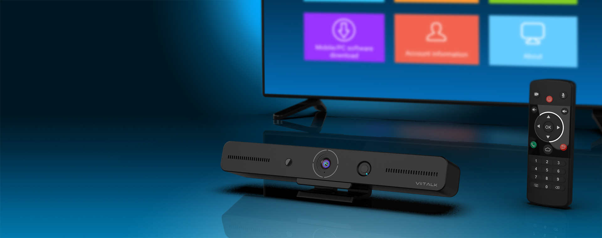 ViiTALK - The Best All-In-One </br> Video Conferencing Device